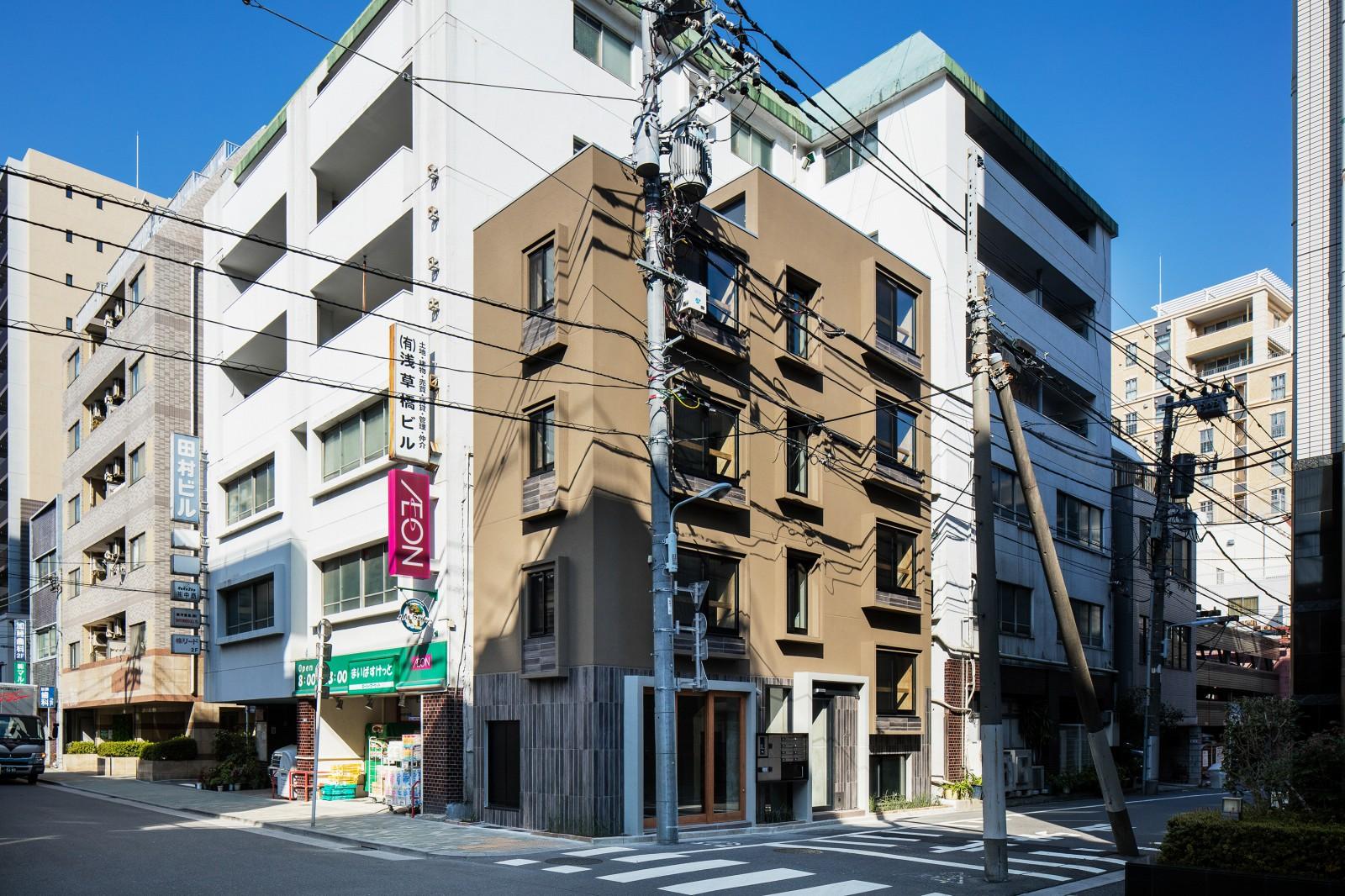 浅草橋の集合住宅